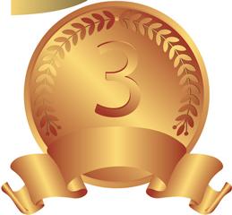 3位-銅メダル