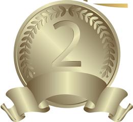 2位-銀メダル